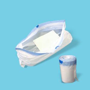 Commode Bucket Bag