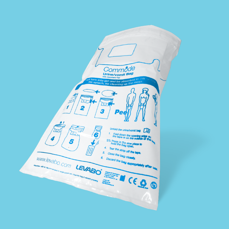 Commode Urine bag Large