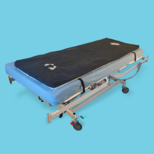 All On Trolley on Bed with Cover