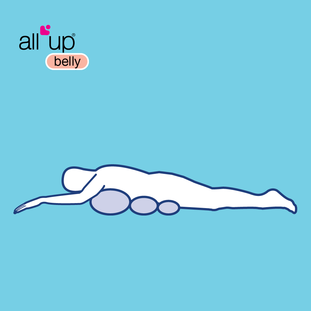 All Up Belly Drawing