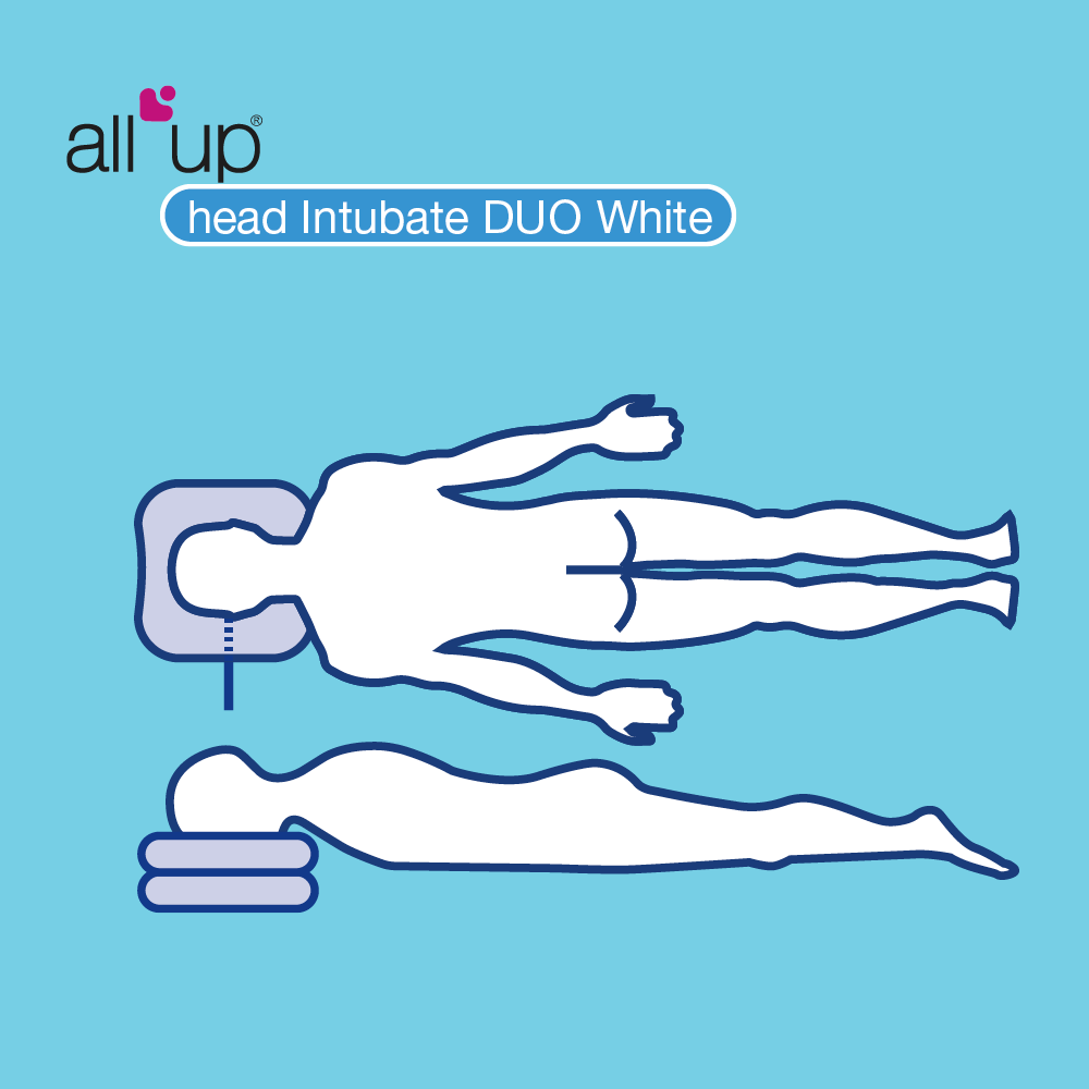 All Up Intubate Duo White Drawing