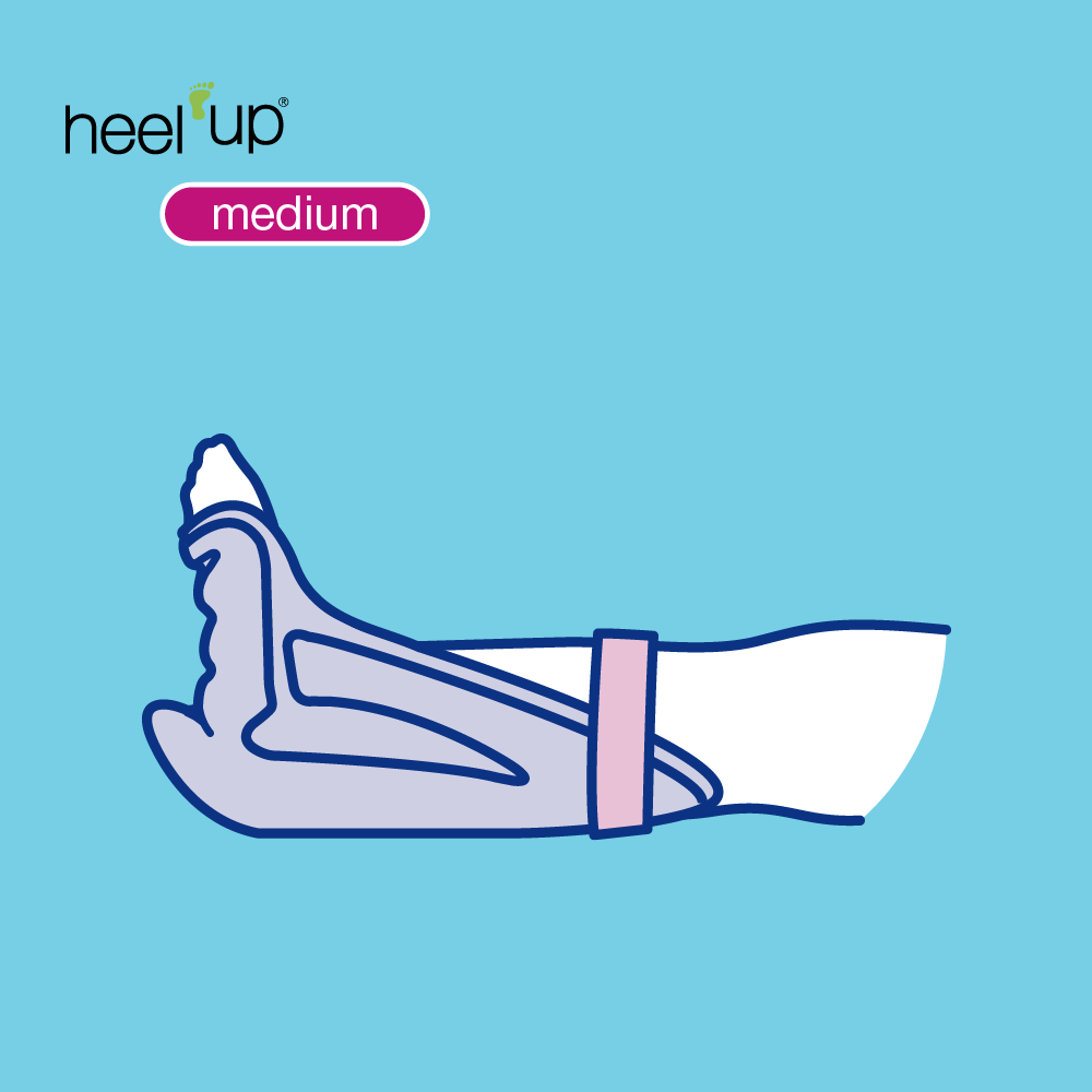 Heel Up Medium Drawing